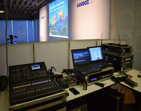Three Way Control Room
